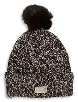 Ralph Lauren Toddler's & Little Girl's Faux Fur Pom-Pom Knit Hat