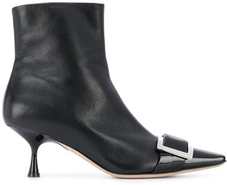 Sergio Rossi sr Twenty buckled ankle boots