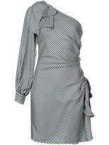 Zimmermann striped one-sleeve dress