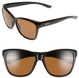 Smith Optics Women's 'Ramona' 56Mm Chromapop Polarized Sunglasses - Black/ Polarized Brown