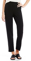 Eileen Fisher Slouchy Ankle Silk Pants