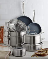 Zwilling J.A. Henckels Spirit Ceramic Nonstick 12-Pc. Cookware Set