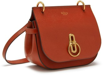 Mulberry Small Amberley Satchel Rust Silky Calf