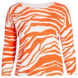 Sequin Animal Sweater