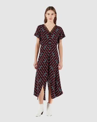 Maje Rorsie Dress