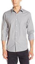 Theory Men's Sylvain Otisco Long Sleeve Button Down Shirt