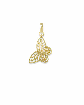 Kendra Scott Breast Cancer Butterfly Charm