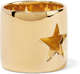 Elizabeth and James Polaris gold-tone ring