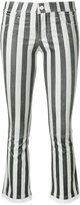 RtA striped cropped trousers
