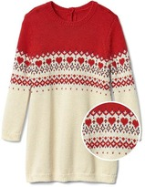 Gap Fair isle yoke sweater dress