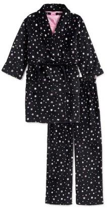 Chili Peppers Girls Pajama Set, 3-Piece, Sizes 4-14