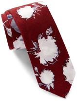 Original Penguin Cherry Floral Tie