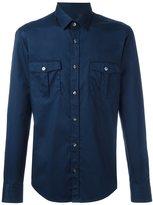 HUGO BOSS safari pockets shirt - men - Cotton - XL