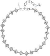Oscar de la Renta Swarovski Crystal Delicate Star Necklace