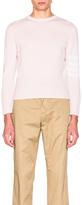 Thom Browne Classic Cashmere Crewneck Sweater