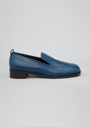 The Row Deerskin Penny Loafers