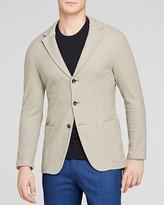 Armani Collezioni Textured Strech Blazer - Slim Fit