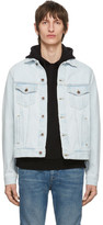 Off-White Blue Denim 3D Pencil Jacket