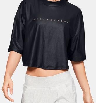 Under Armour Women's UA Unstoppable Mock Short Sleeve