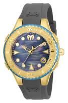 Technomarine Women's Cruise Stainless Steel Quartz Watch with Silicone Strap Grey 23 (Model: TM-118096)