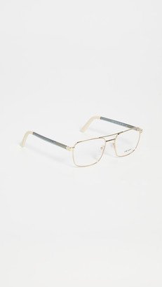 Prada Metal Aviator Glasses