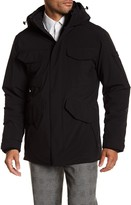 Tumi Detachable Hood Heavy Coat