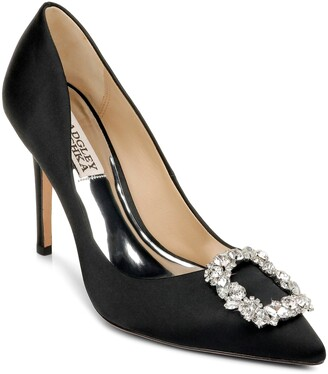 Badgley Mischka Cher Crystal Embellished Pump