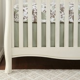 DwellStudio Woodland Tumble Solid Canvas Crib Skirt