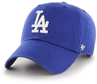 '47 47 MLB Los Angeles Dodgers CLEAN UP Cap - Cotton Twill Unisex Baseball Cap Premium Quality Design and Craftsmanship by Generational Family Sportswear Brand