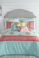 Jessica Simpson Ellie King Comforter 3-Piece Set - Blue/Green