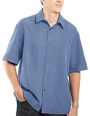 Claiborne Short-Sleeve Shirt - Big & Tall