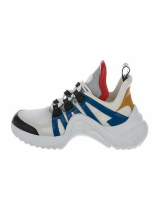 Louis Vuitton Archlight Chunky Sneakers Silver