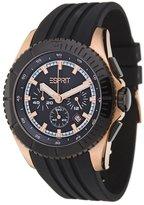 Esprit Men's ES101891005 Rubber Quartz Watch with Dial