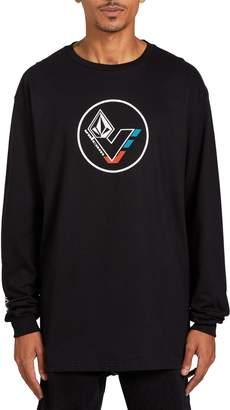 Volcom Basic Long Sleeve Longline T-Shirt