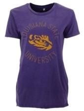 Royce Apparel Inc Women's Lsu Tigers Vintage Wash T-Shirt