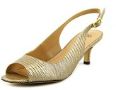 J. Renee Classie Women W Peep-toe Synthetic Slingback Heel.