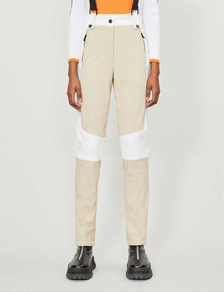 Topshop Aldrin stretch-woven ski trousers