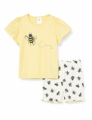 Calida Girls' Toddlers Honey Bee Pyjama Sets