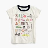 "J.Crew Girls' ""New York"" destination art T-shirt"