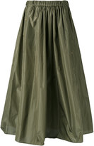 Kenzo military A-line skirt - women - Silk/Polyester - 34