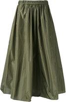 Kenzo military A-line skirt