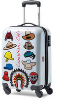 Canadian Tourister Canadian Tourister 21-Inch Spinner Canada Eh Hat Carry-On Suitcase