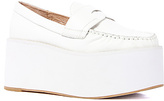 Jeffrey Campbell The Weller Shoe in All White