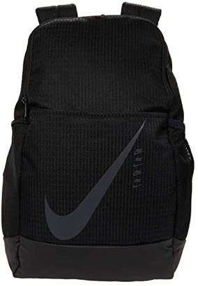 Nike Brasilia Medium Carryall Backpack 9.0 (Black/Black/Black) Backpack Bags