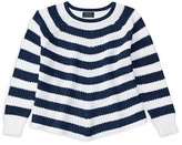 Ralph Lauren Girls' Flared Striped Sweater - Sizes S-XL