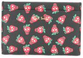 Paul Smith strawberry print wallet - men - Calf Leather - One Size