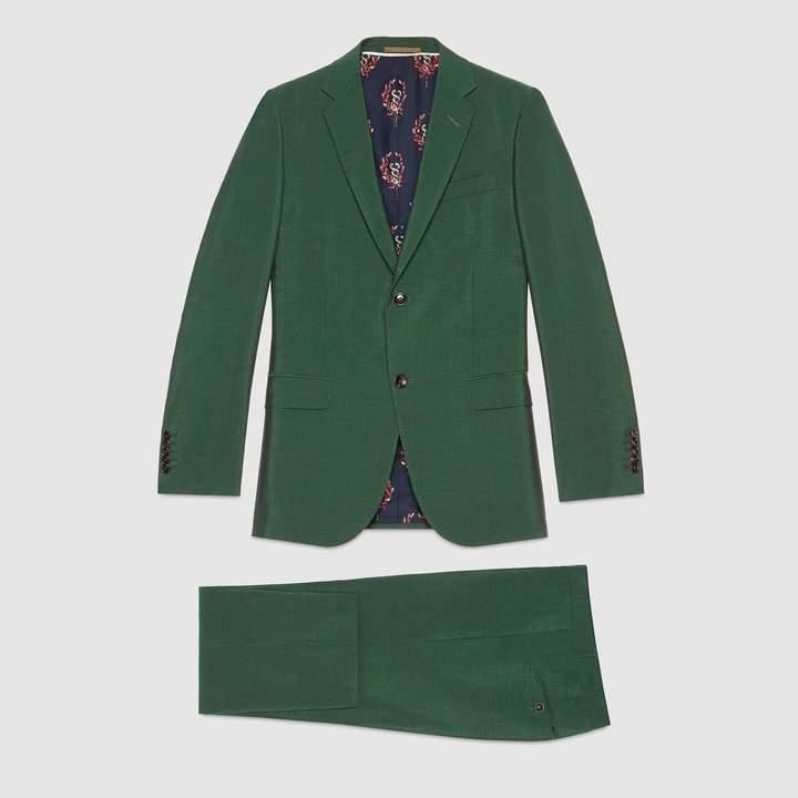 Gucci Monaco wool mohair suit