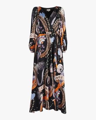 Temperley London Clementina Wrap Dress
