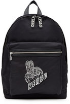 Kenzo Fabric Backpack with Logo