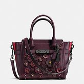 Coach Women's Willow Floral Swagger 21 Satchel